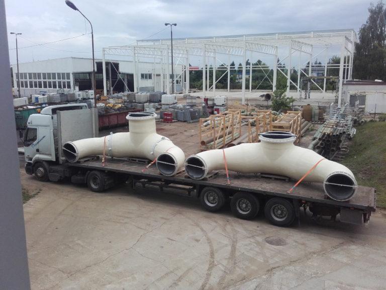 Circulation pipelines of flue gas desulphurisation systems - IOS