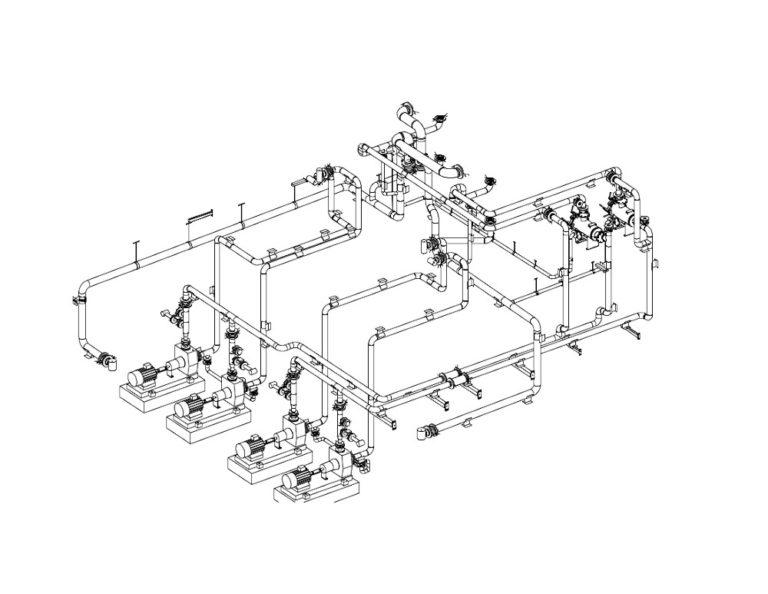 Design of plastic installations